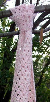Pink Zen Scarf