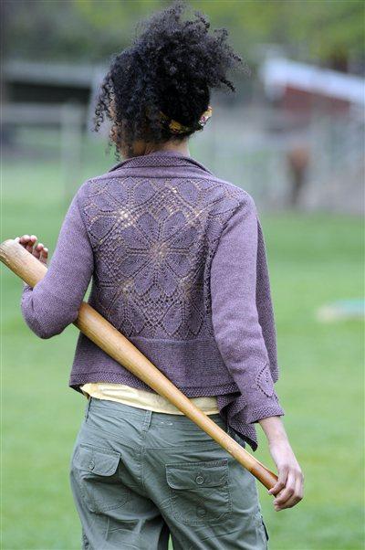 Stunning Dahlia Knit Cardigan Pattern